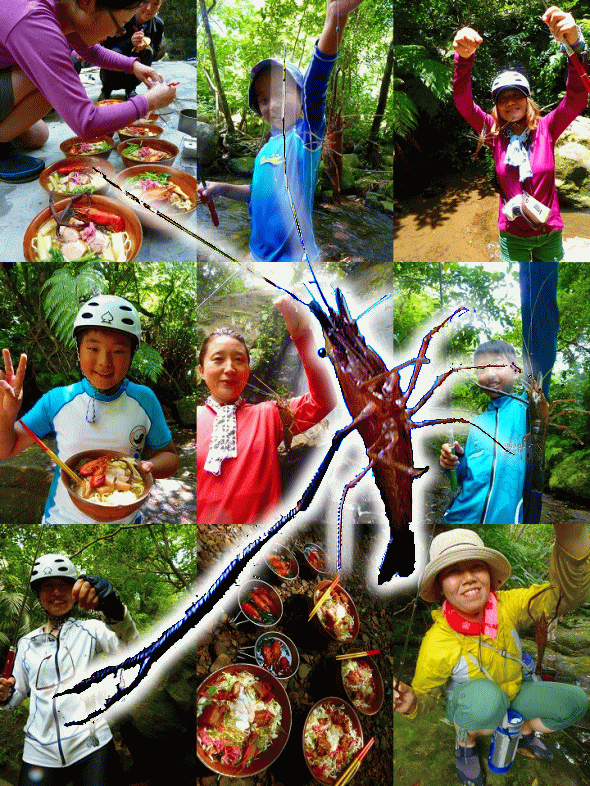 西表島で日本最大の手長エビを釣るツアー