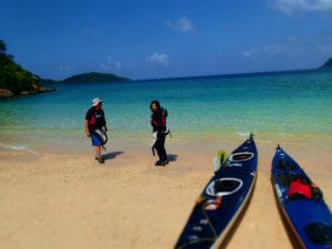 西表一の美しい色、イダの浜