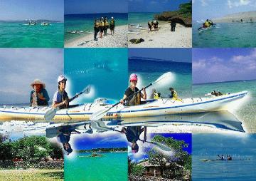 美しい鳩間島、バラス島への西表島からのシーカヤックツアー