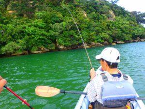 アンカー打ってあるので流されず、安心して釣りを楽しみました。
