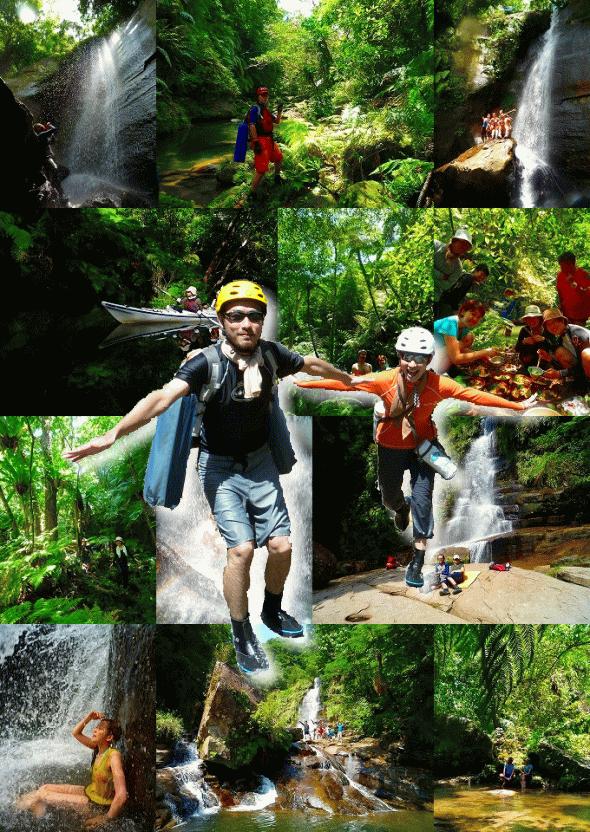 ナーラの滝と神秘の滝「NEWナカラ」 西表島マングローブカヌー&秘境トレッキング