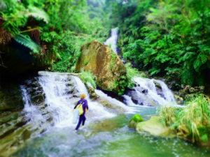 西表島一番の美しい滝、ナーラの滝に到着