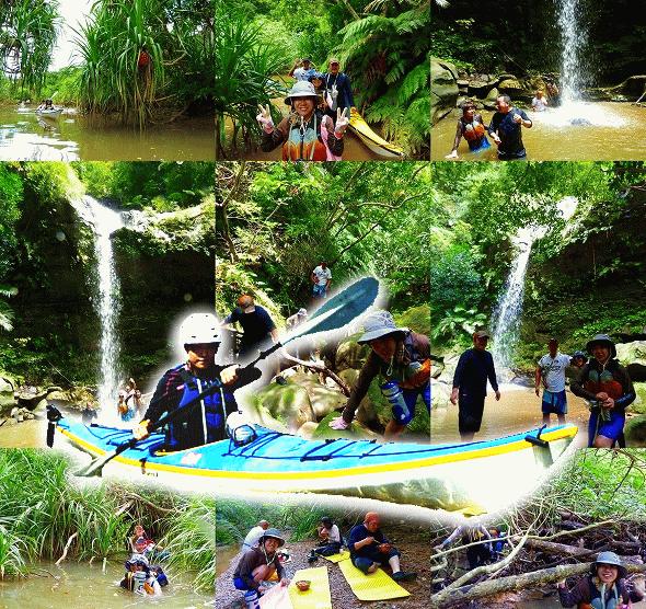 秘境の滝トドゥルシ西表島カヌー&トレッキング