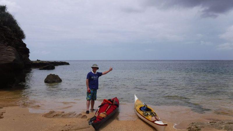 マイカヤックで(レベルアップツアー@西表島タカラ島コース)